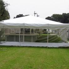קירוי עמיד לגשם-אוהל מתיחה - גן ארועים - גני כרמל