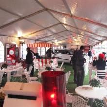 נגד גשם- אוהל קונסטרוקציה - ארוע מכירות - חברת קיה