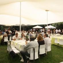 רשת צל באירוע פרטי- גן אירועים - פיין קלאב